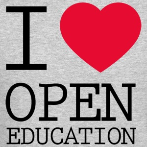 I Love Open Education - Crewneck Sweatshirt