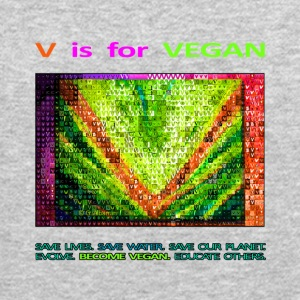 V IS FOR VEGAN. evolve. - Crewneck Sweatshirt
