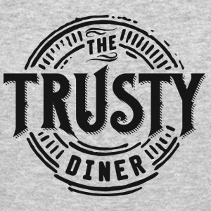 TheTrustyDiner black - Crewneck Sweatshirt