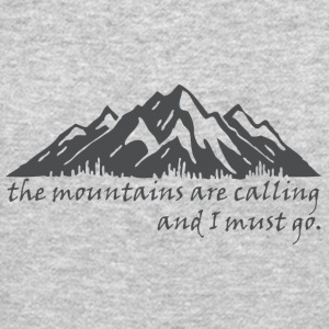 The_Mountains_are_Calling - Crewneck Sweatshirt