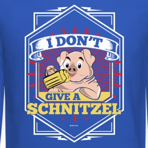 I Don't Give A Schnitzel German Beer Oktoberfest - Crewneck Sweatshirt