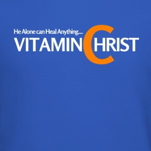 Vitamin C for Christ, he can heal. - Crewneck Sweatshirt
