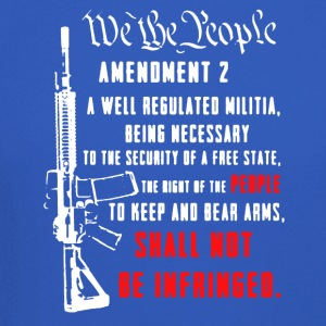 2nd Amendment Tee Shirt - Crewneck Sweatshirt