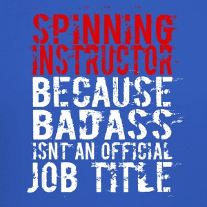 SPINNING INSTRUCTOR BADASS JOB TITLE - Crewneck Sweatshirt