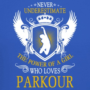 Girl Who Loves Parkour Tee Shirt - Crewneck Sweatshirt