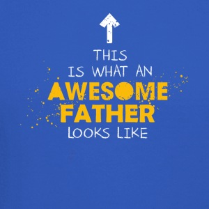 This Is What An Awesome Father Looks Like - Crewneck Sweatshirt