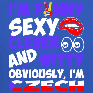 Im Funny Sexy Clever And Witty Im Czech - Crewneck Sweatshirt
