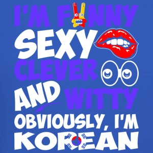 Im Funny Sexy Clever And Witty Im Korean - Crewneck Sweatshirt