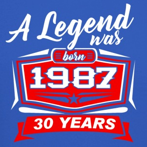 30 YEARS Birthday 1987 a legend T-Shirt - Hoodie - Crewneck Sweatshirt