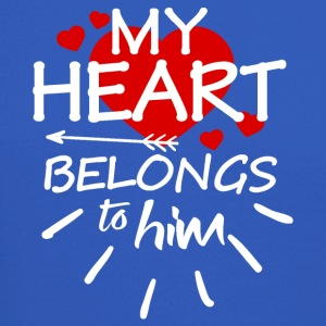 My heart belongs to him - Crewneck Sweatshirt