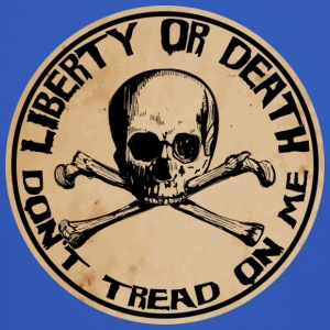 Liberty or Death Dont Tread On Me - Crewneck Sweatshirt