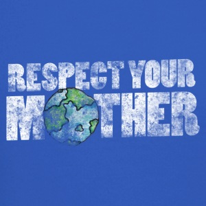 Respect your mother earth vintage earth day - Crewneck Sweatshirt