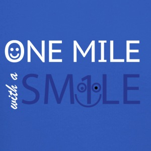 mile with a smile - Crewneck Sweatshirt