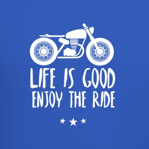Life is good enjoy the ride - Crewneck Sweatshirt