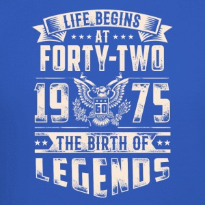 Life Begins At Forty Two Tshirt - Crewneck Sweatshirt