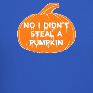 Halloween No I Did not Steal A Pumpkin Funny - Crewneck Sweatshirt