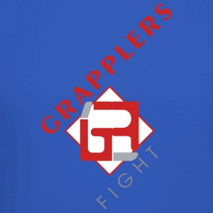 Dynamic 001 grapplersfight LOGO Front - Crewneck Sweatshirt
