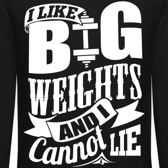 Funny Gym Weights Quotes | Crewneck Sweatshirt