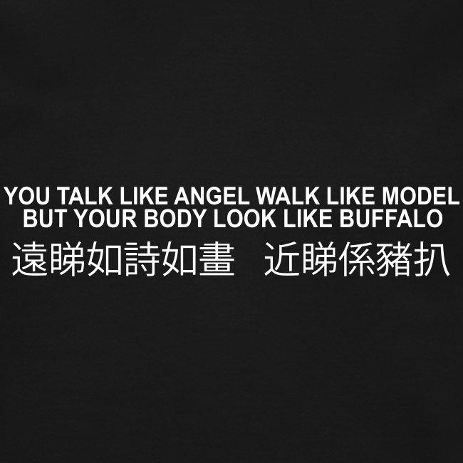 buffalo vectorized
