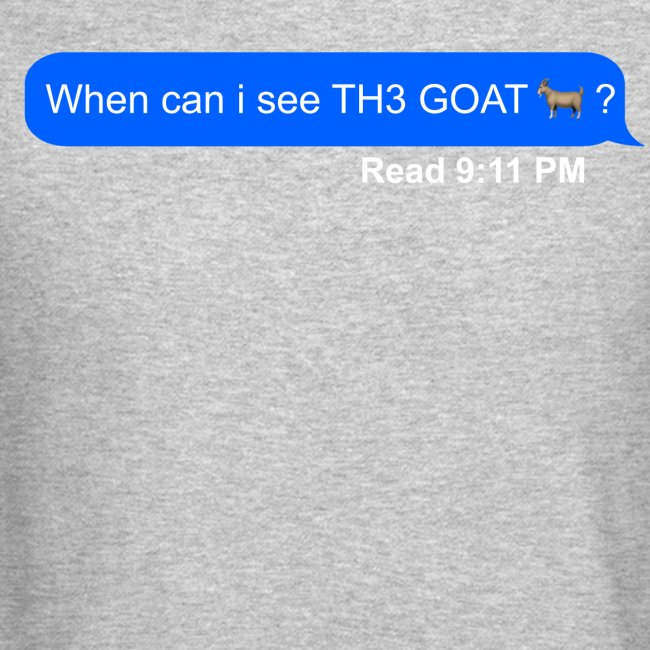 when can i see th3 goat