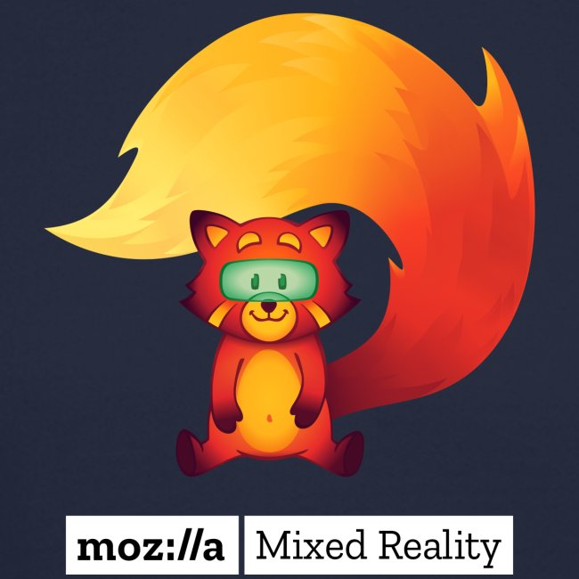 Foxr Sitting (white MR logo)