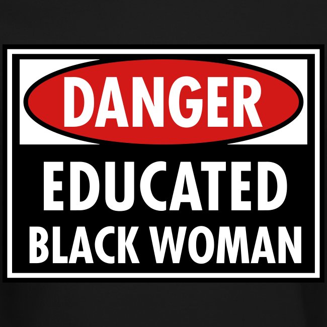 Danger Educated Black Woman_ Global Couture Long S