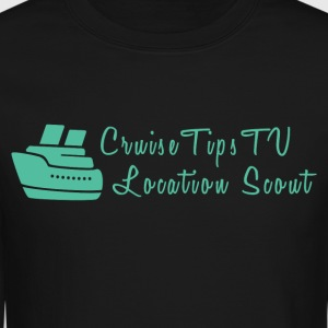 Cruise Tips TV Location Scout - Crewneck Sweatshirt