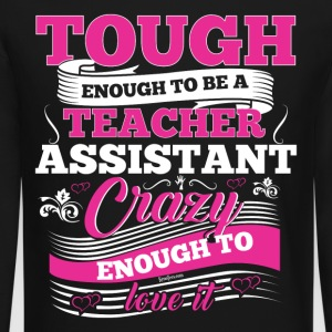 The Teacher Assistant Preschool Kindergarten Tee - Crewneck Sweatshirt