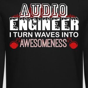 Audio Engineer Tshirt - Crewneck Sweatshirt