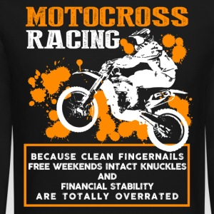 Motocross Racing Shirt - Crewneck Sweatshirt