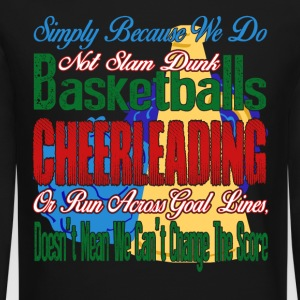 CHEERLEADING SHIRT - Crewneck Sweatshirt