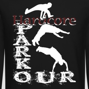 HARDCORE PARKOUR GRUNGE CITY SHIRT - Crewneck Sweatshirt