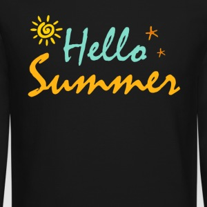 HELLO SUMMER - Crewneck Sweatshirt
