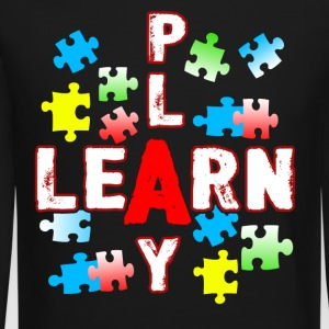 JIGSAW PUZZLE LEARN AND PLAY SHIRT - Crewneck Sweatshirt