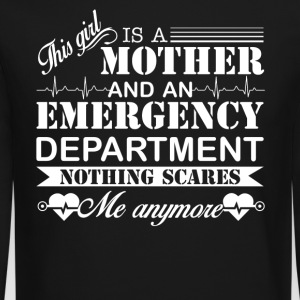 Emergency Department Mom Shirt - Crewneck Sweatshirt