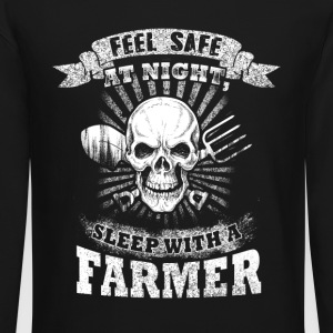 Sleep with a Farmer T Shirts - Crewneck Sweatshirt