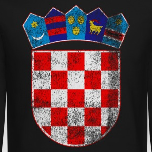 Croatian Coat of Arms Croatia Symbol - Crewneck Sweatshirt