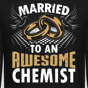 Married To An Awesome Chemist - Crewneck Sweatshirt