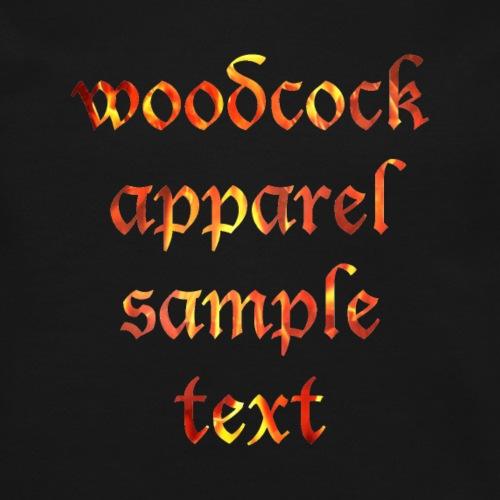 woodcock apparel sample text dark - Crewneck Sweatshirt