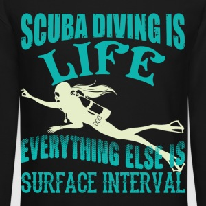 Scuba Diving Is Life T Shirt - Crewneck Sweatshirt