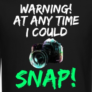 Cool Photography Warning - Best Gift for Him, Her - Crewneck Sweatshirt