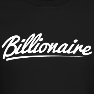 Billionaire - Underlined Design (White Letters) - Crewneck Sweatshirt