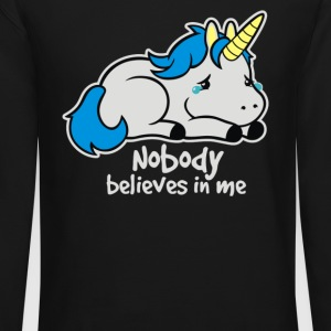 Sad unicorn - Crewneck Sweatshirt