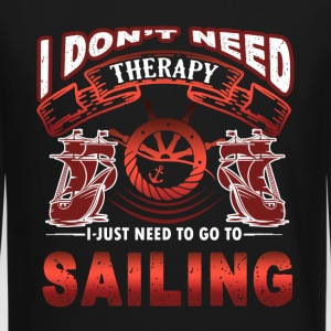 Sailing Therapy Shirt - Crewneck Sweatshirt