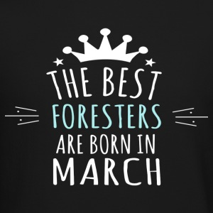 Best FORESTERS are born in march - Crewneck Sweatshirt