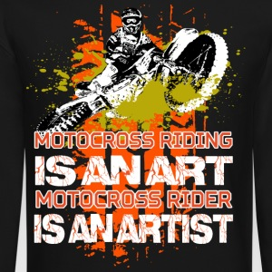 Motocross riding - Crewneck Sweatshirt