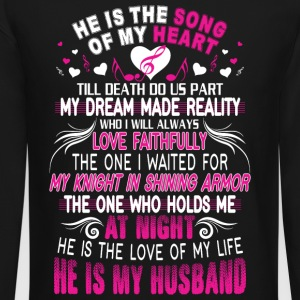 He Is My Husband T Shirt - Crewneck Sweatshirt