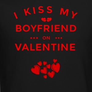 I KISS MY BOYFRIEND ON VALENTINE - Crewneck Sweatshirt