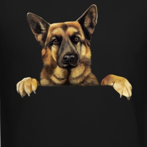 German Shepherd T shirt German Shepherd Power - Crewneck Sweatshirt