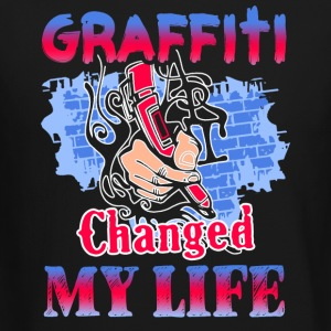 Graffiti Change My Life Shirt - Crewneck Sweatshirt